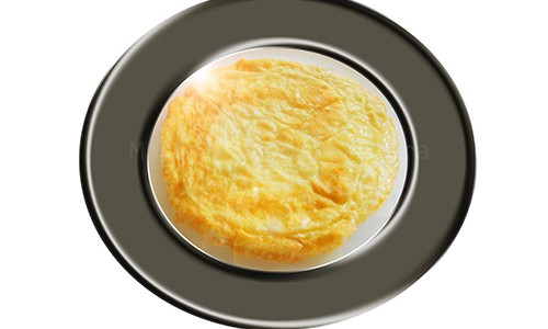 Tortilla de huevo al horno.