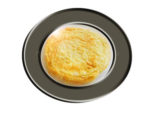 huevo en tortilla
