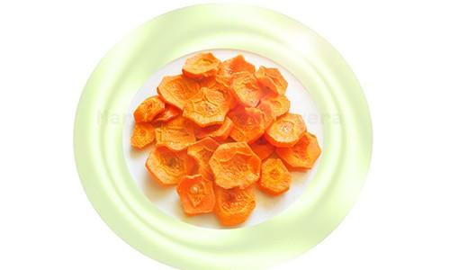 Golosinas de zanahoria.