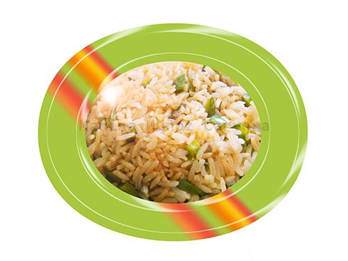 salteado de arroz