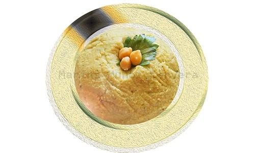 Hummus ligero, un puré de garbanzos