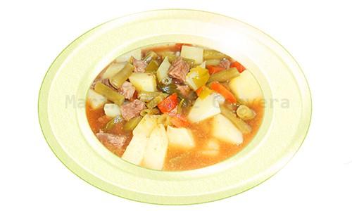 Guiso de carne con patatas al romero
