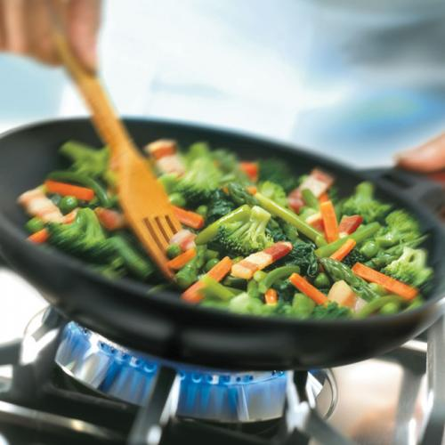 cocinar con aceite