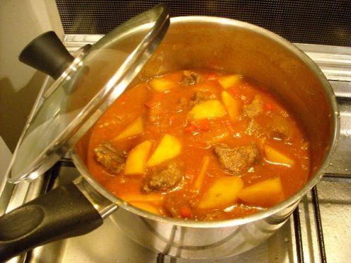 cocinar en medio mixto