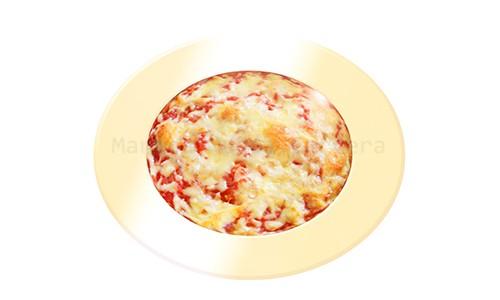 Pastel salado de quinoa.