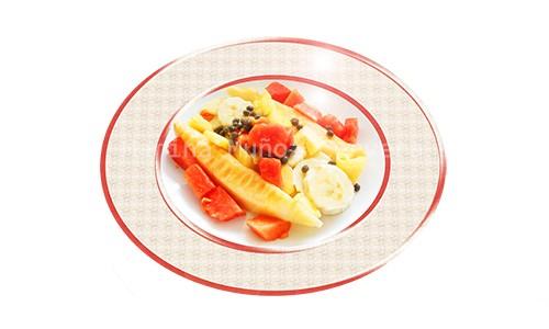 Desayuno frutal para comenzar el día.