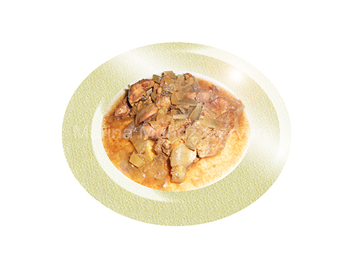 hígado de pollo