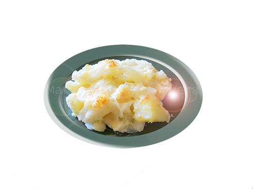 coliflor gratinada