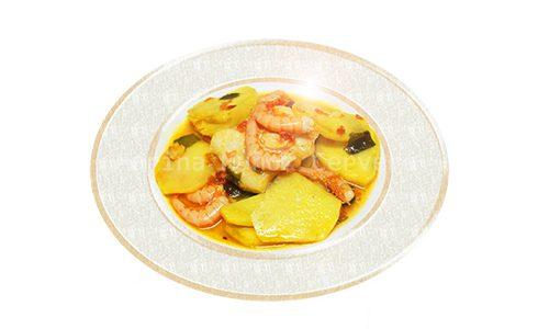Suquet de bacalao con gambas ¡rico y nutritivo!